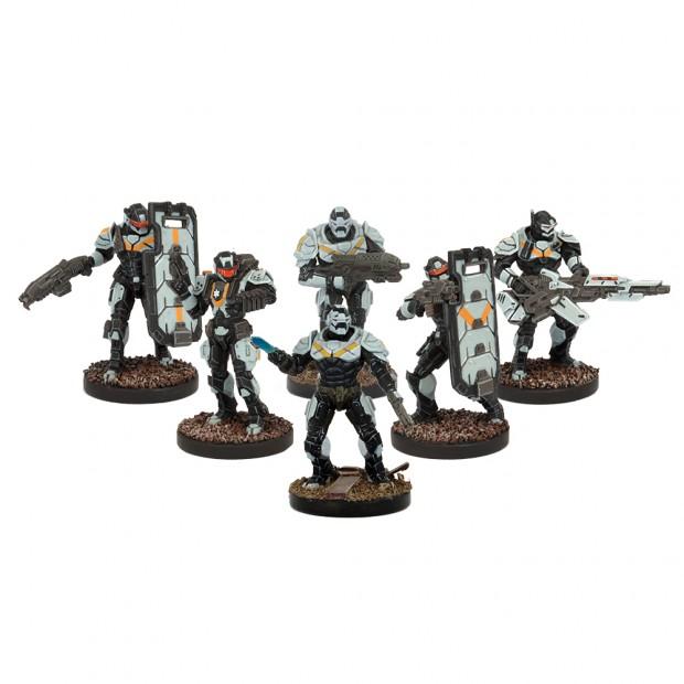 Die Enforcer-Truppen sind die erste Angriffslinie jedes Enforcer-Teams. Eine militärische Elite-Einheit, diszipliniert und tödlich.